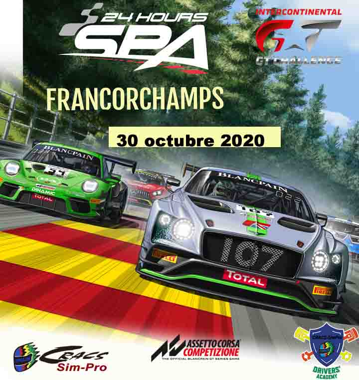 SPA 24H – ENDURANCE – Intercontinental